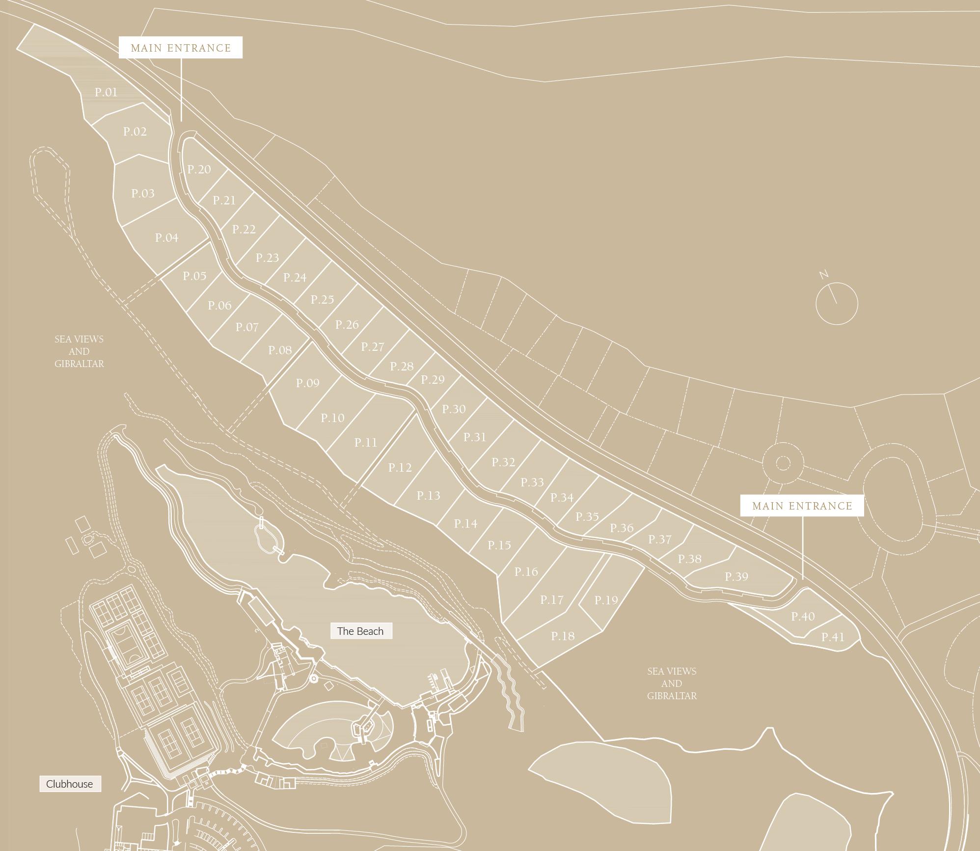 Lagoon Villas Sitemap
